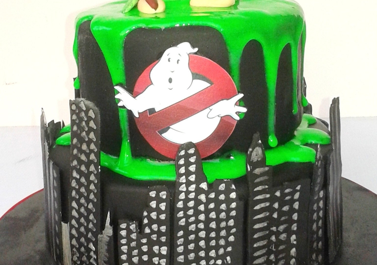 Ghost Buster Cake