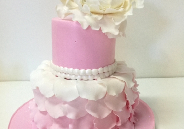 Petals and Pearls Cake